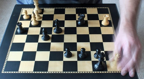 Checkmate (In slow motion!)